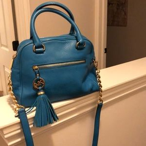 Michael Kors Purse in Turquoise